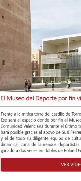 El Museo del Deporte por fin visitará la Comunidad Valenciana