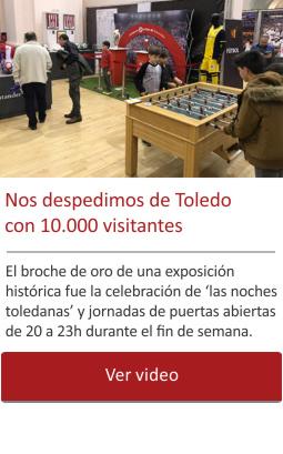 Nos despedimos de Toledo con 10.000 visitantes