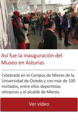 Así fue la inauguración de del Museo en Asturias