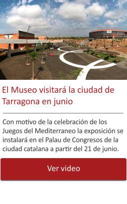 El Museo visitará la ciudad de Tarragona en junio