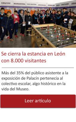 León cerró con más de 8,000 visitantes una histórica exposición, el 35% escolares.