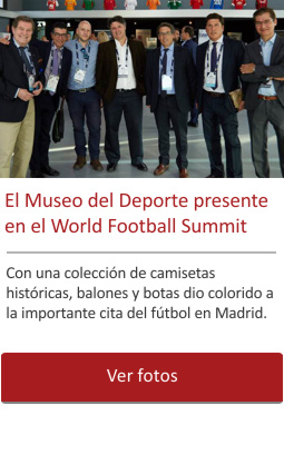 El Museo del Deporte presente en el World Football Summit de Madrid.