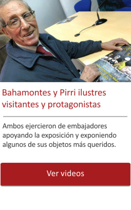 Bahamontes y Pirri presentes en el Museo.